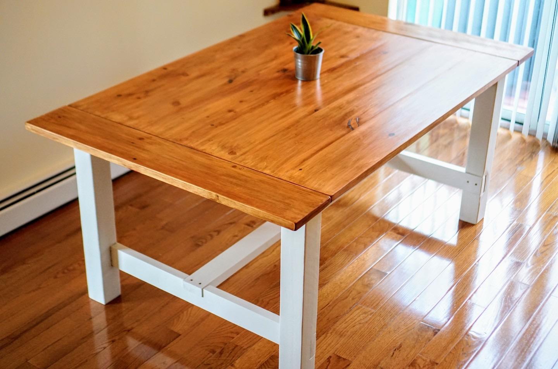 All Day I Build: Farmhouse Table